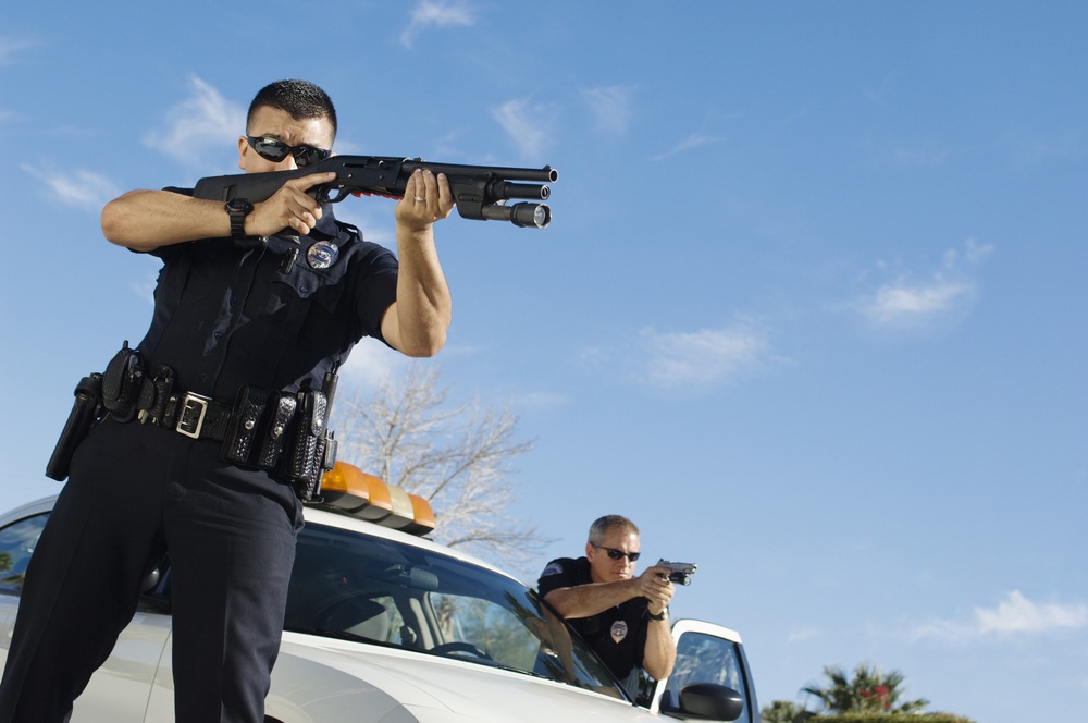 US police wants to shoot 98 White stupid reason to address racism - accusations