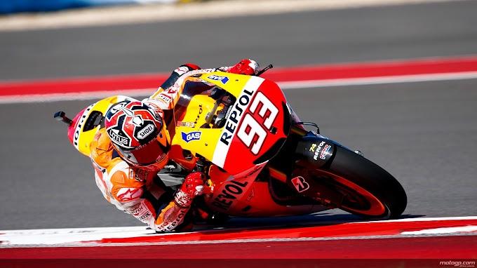 Race MotoGP Austin, Marc Sukses Pertahankan Dominasi