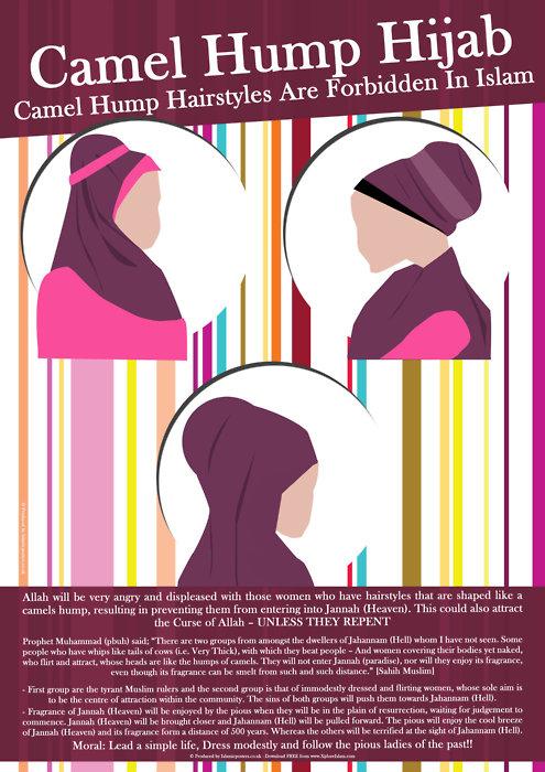 jilbab modis yang terlarang dalam islam-novieffendi.com