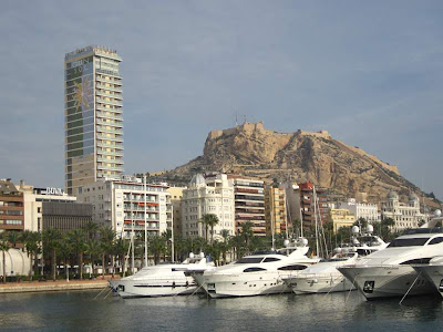 Alicante from Kontiki cruise