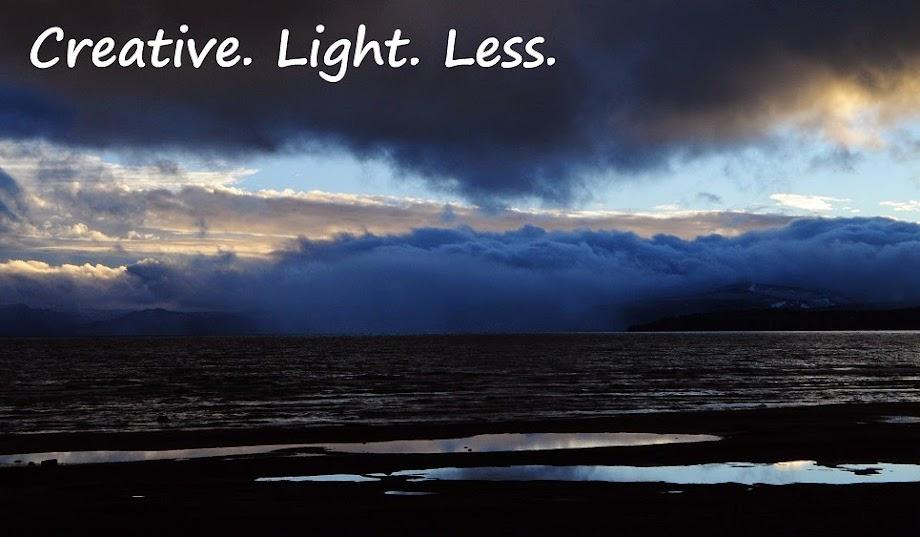 Creative. Light. Less.