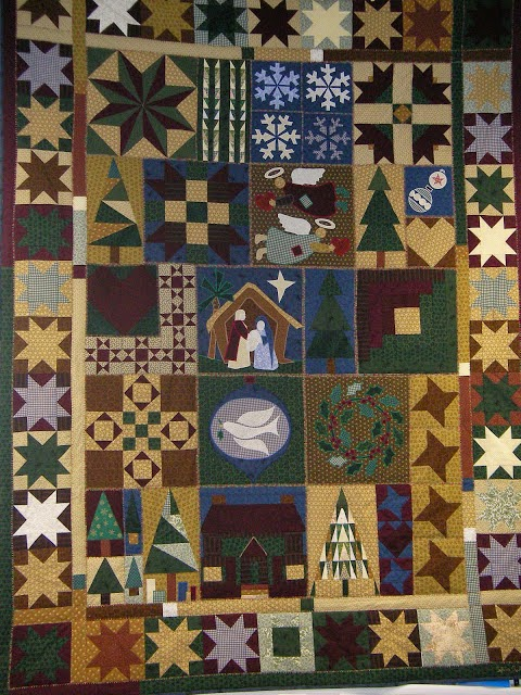 Erster selbst entworfener Quilt