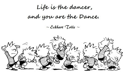 Eckhart Tolle quote, love, dance, path in life, a new earth