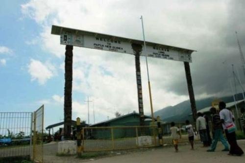 Perbatasan Indonesia-Papua Nugini. PROKIMAL ONLINE Kotabumi Lampung Utara