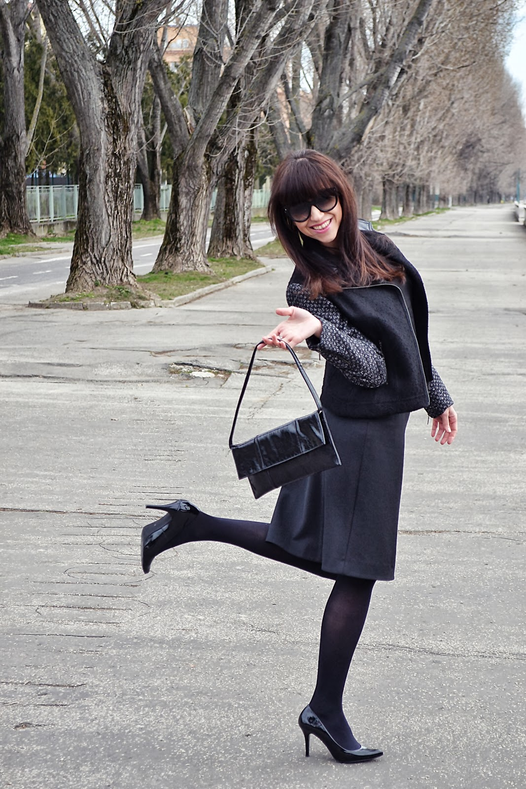 Fashion black outfit Katharine-fashion is beautiful