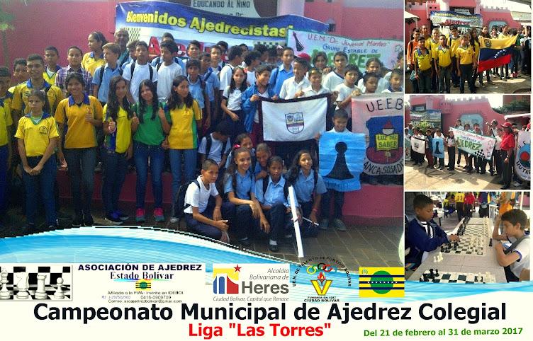 CAMPEONATO MUNICIPAL DE AJEDREZ COLEGIAL