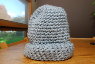 Vet School Widow: Quick and Easy Women's Winter Hat with Chunky Yarn