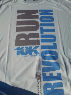 Camiseta 10k Alcoy 2012