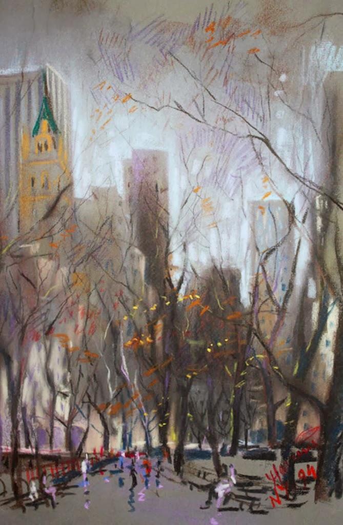 pinturas-de-paisajes-de-ciudades