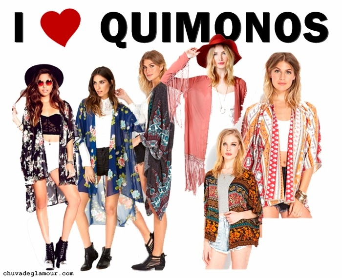 looks quimonos