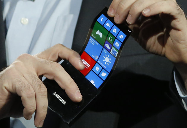 samsung flexible display youm ces 2013 las vegas