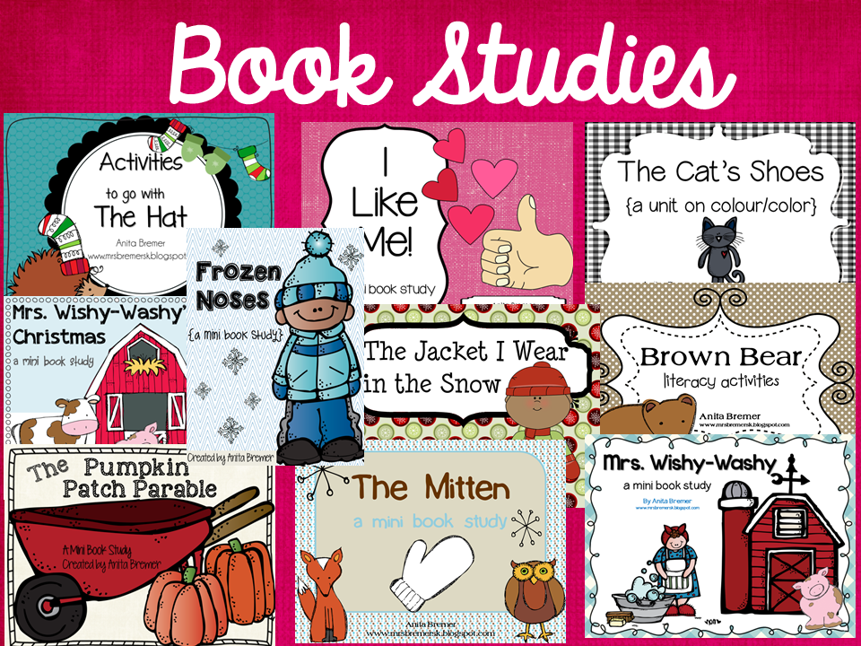 Book Studies by Anita Bremer {Mrs. Bremer's Class blog}