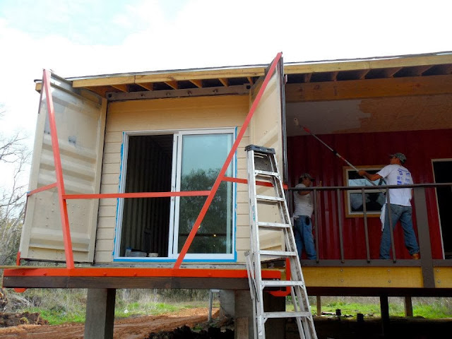 Texas container homes jesse c smith jr consultant random pictures of container homes - Container homes texas ...