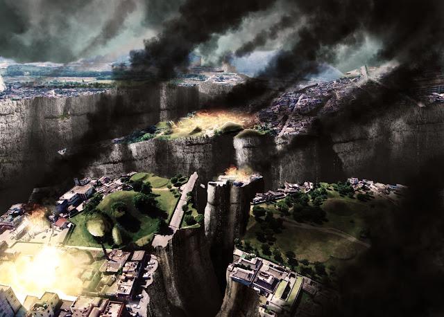 2012, disaster, photoshop, photoshop tutorial, manipulasi, foto, editing, kehancuran