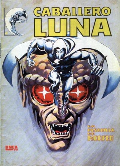 Portada del Caballero Luna Nº 4 Ediciones Surco