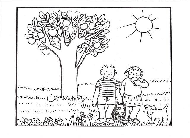 Fichas para colorear para trabajar las estaciones del año | Fichas ...