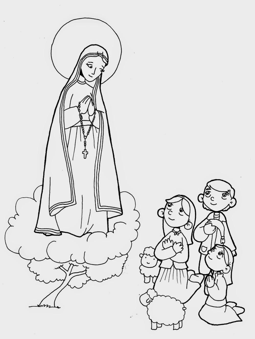 MENSAJE DE LA VIRGEN DE FÁTIMA - Santísima Virgen