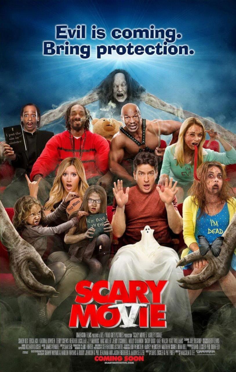 Scary Movie 5 (2013) [DvdRip Español Latino] [BS]