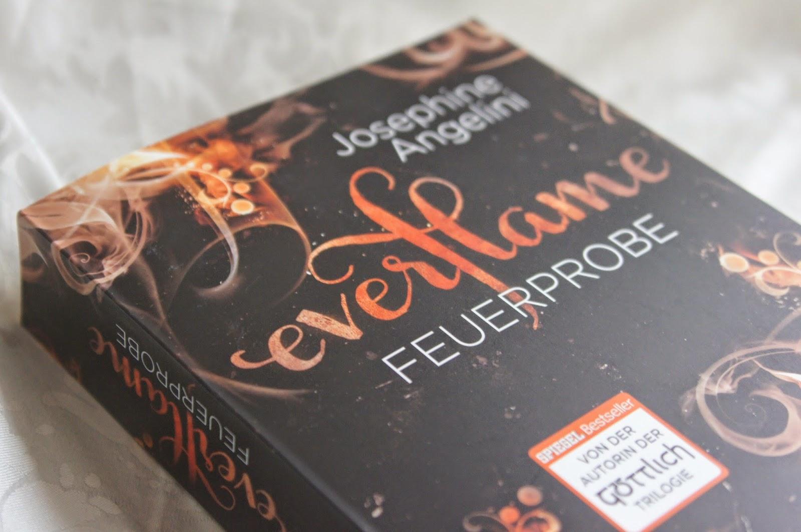 everflame - Feuerprobe, Josephine Angelini