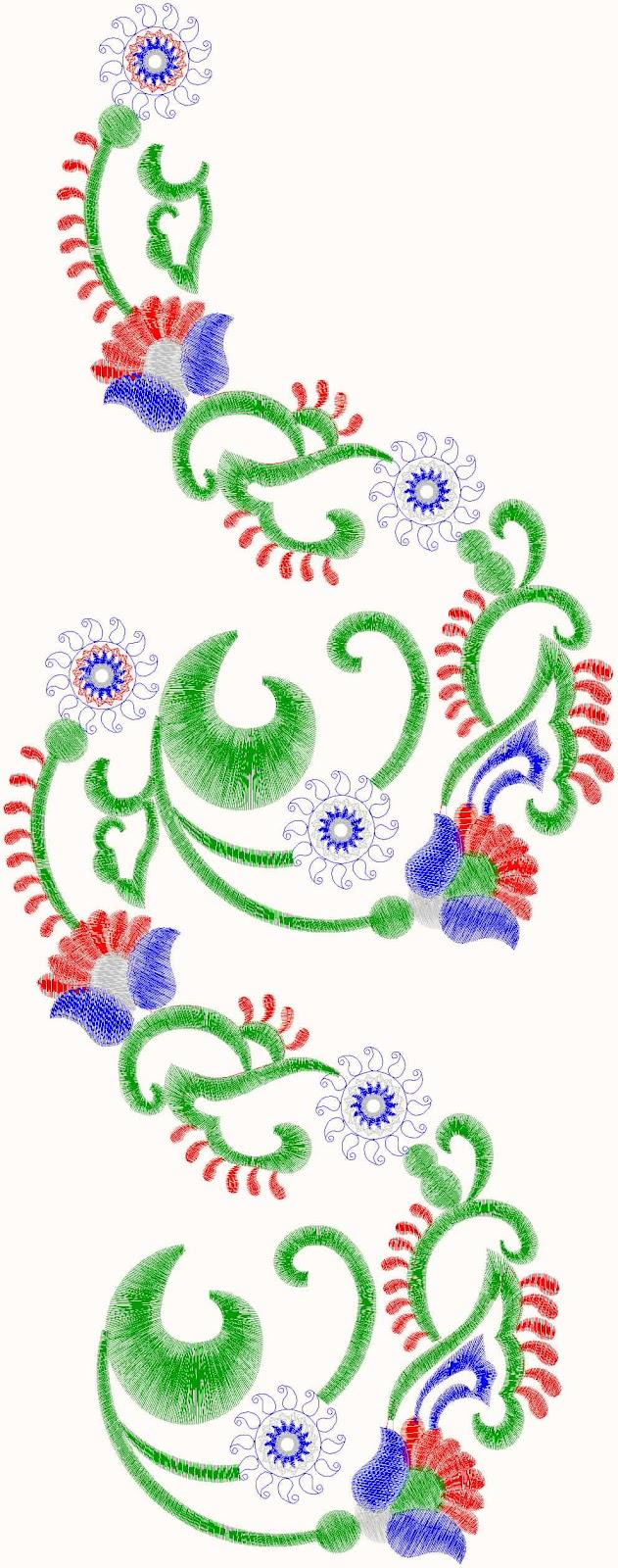 Perfect embroidery designs name makaroka