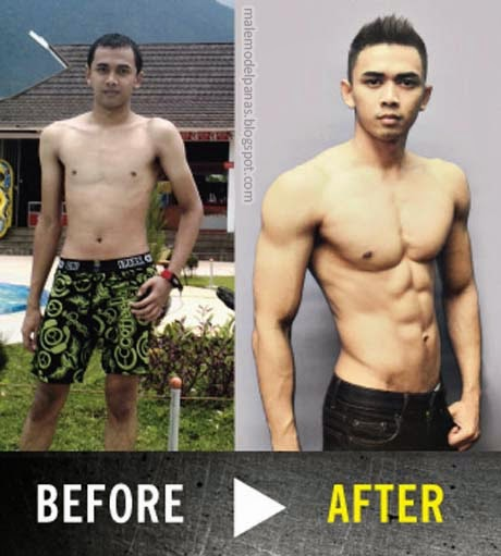 body transformation with lmen and gym