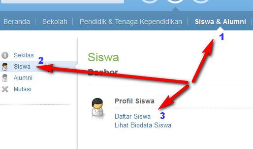 cara upload memasukkan menambah data siswa di padamu negeri sekaligus, file excel unggah data nama siswa di padamu