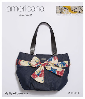 Miche Americana Demi Shell from MyStylePurses.blogspot.com