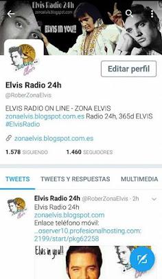 TWITTER - ELVIS RADIO 24h ZONA ELVIS