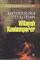 toko buku rahma: buku METODE PENELITIAN WILAYAH KONTEMPORER, pengarang hadi sabari yunus, penerbit pustaka pelajar