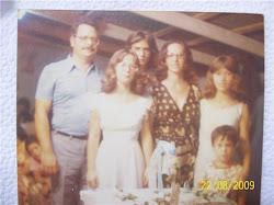 Valéria e família
