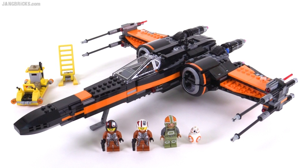 LEGO Star Wars Poe's X-Wing Fighter build & review videos! 75102
