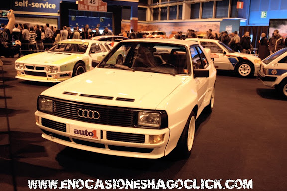 Audi Quattro Madrid Motor Days