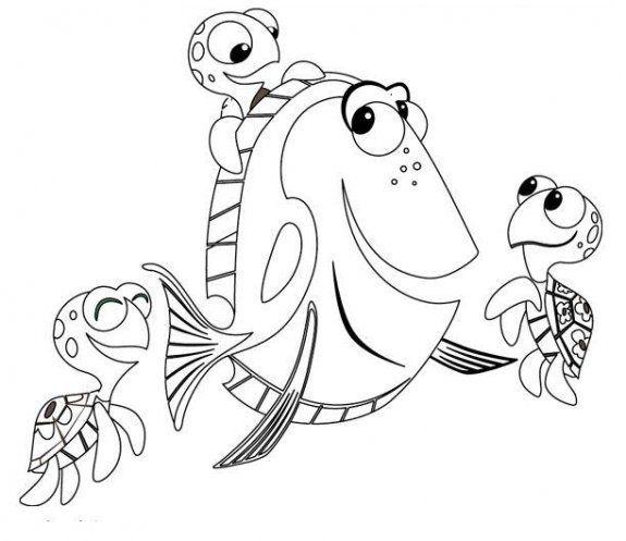 finding nemo coloing pages minister coloring