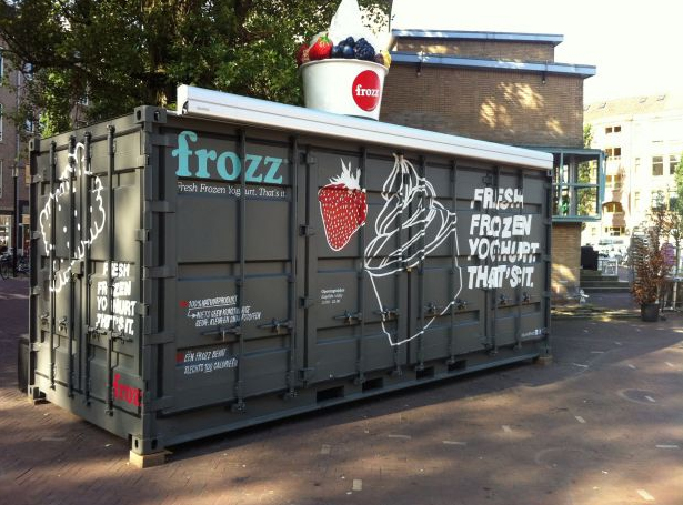 Spotmarker Frozz Container Bar