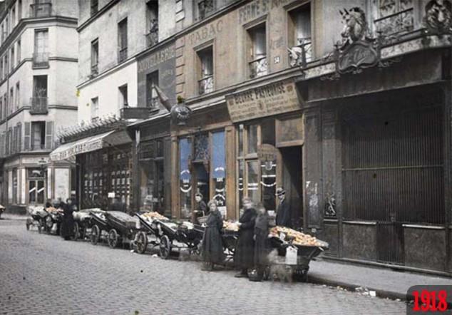 Rue Basfroi in 1918