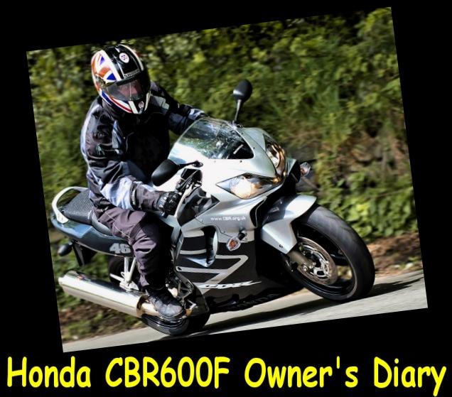 Tom McQuiggan's Honda CBR600F