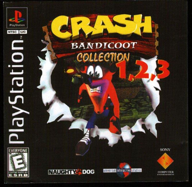 Crash Bandicoot Collection 1 2 3