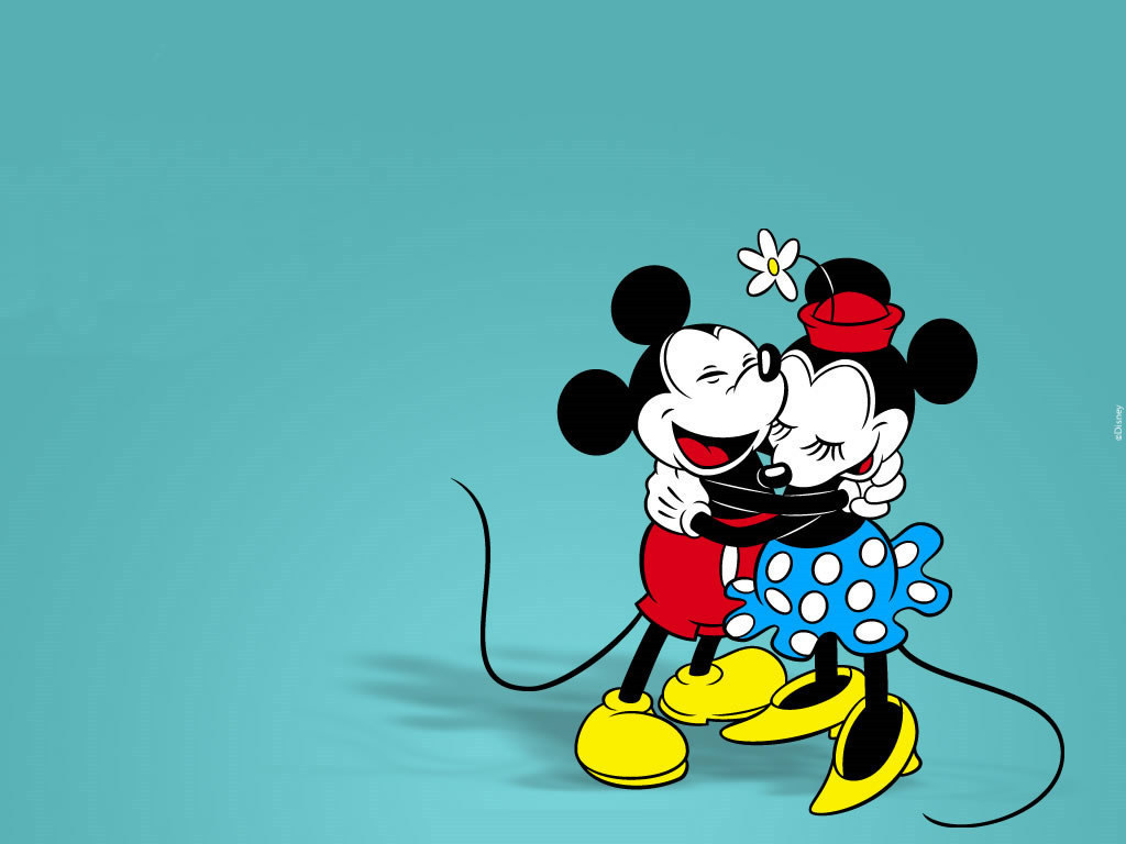 Mickey et Minnie Mouse Wallpaper