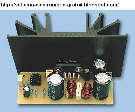 schema electronique gratuit montage schema amplificateur de puissance audio 36 watt base de. Black Bedroom Furniture Sets. Home Design Ideas
