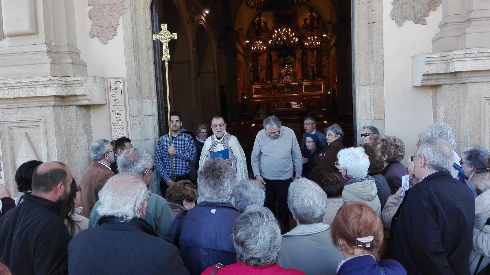 Peregrinació Oblats Benedictins de Montserrat (30-4-2016)