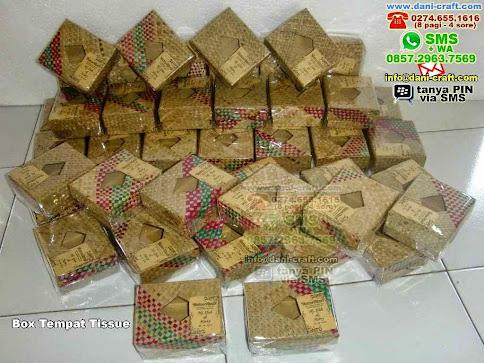 Box Tempat Tissue Mendong Kalimantan