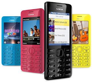 Gambar Nokia 206 HP Murah