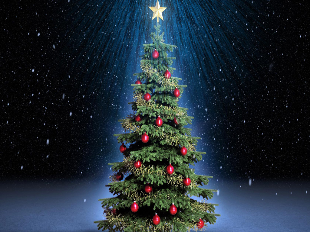 Free Download Christmas Tree HD Wallpapers for iPad | Tips ...