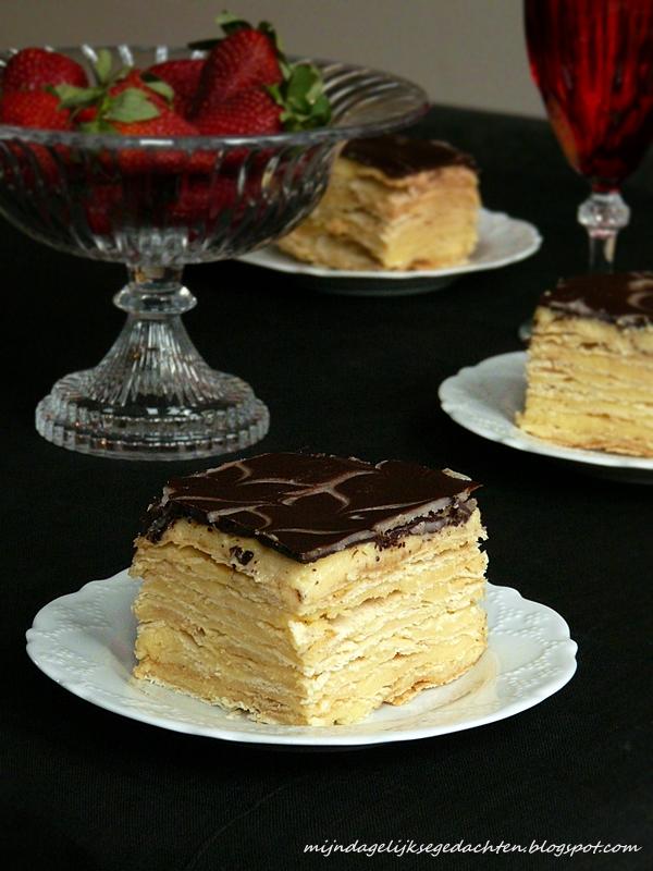 Mijn Dagelijkse Gedachten Napoleon Cake With Ganache
