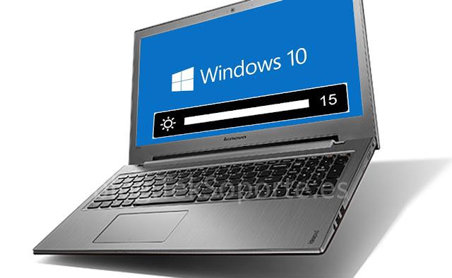 Lenovo Ideapad Z500 ' Como arreglar el problema de control de brillo en Windows 10