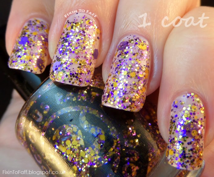 Octopus Party Nail Lacquer Ametrine Hour swatch