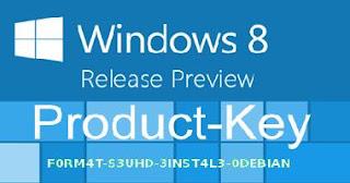 Free Windows 8 Product Keys