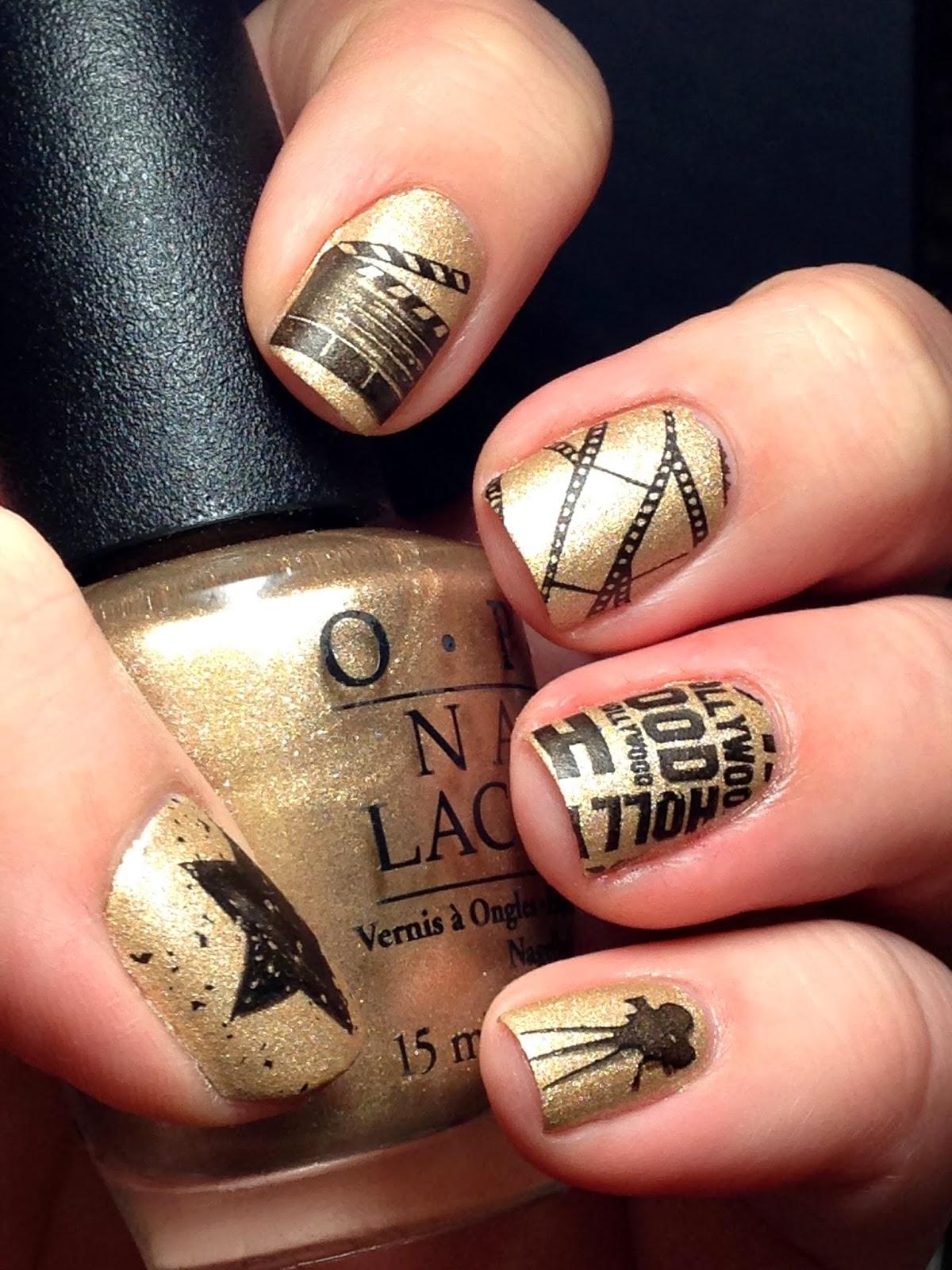 Punkys Polish Nail Art For Nubs Oscar Nails