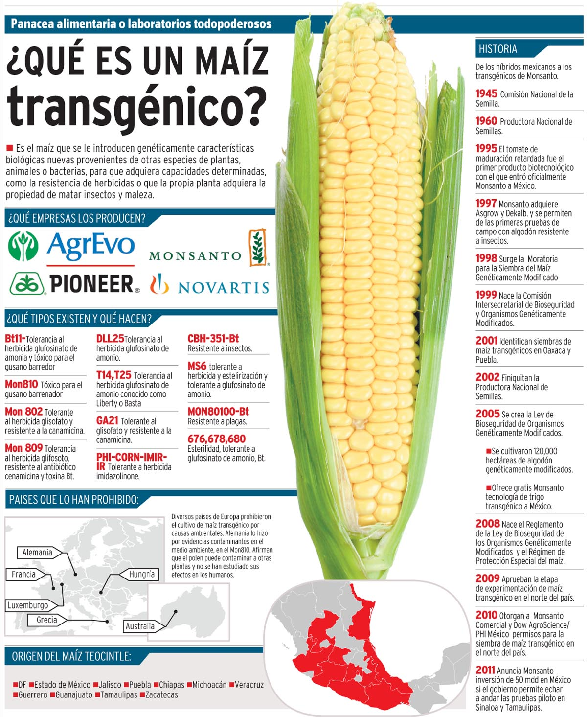 Listado alimentos transg nicos identi - Ventajas alimentos transgenicos ...