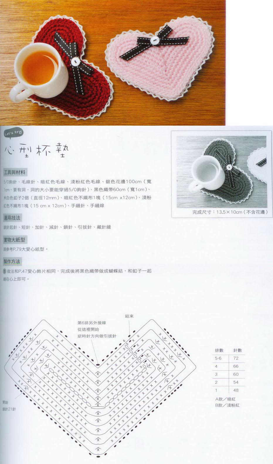 Вязание крючком стакан схемы